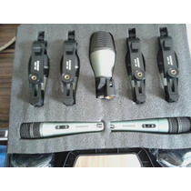 Kit De Microfone Samson Dk7 P/ Bateria, 7 Peças