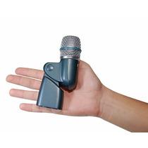 Sjuro Microfone Arcano Para Bateria Bt-56 C/ Clamp