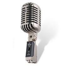 Microfone Arcano Vintage Vt-45 Com Maleta