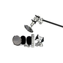 Kit De Microfone Condenser Samson Cl2 - Dplug