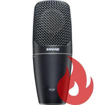 Shure Pg27 Lc . Microfone . Loja . Nf + Garantia . Envio 24h