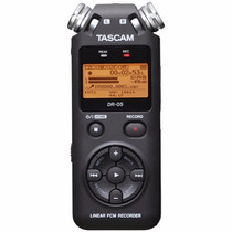 Tascam Dr-05 Handheld Pcm Recorder Gravador Digital ,