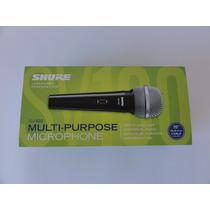 Microfone Multifuncional Shure Sv100 - C/ Nota Fiscal