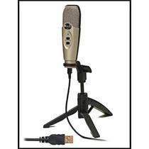 Microfone Cad U37 Usb Condensado Estúdio De Gravação
