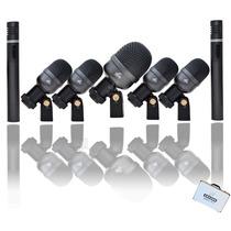 Kit De Microfones Bateria Arcano Arc-a7 Maleta Completissimo