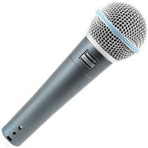 Microfone Profissional Shure Beta58a Sm58 Original
