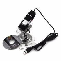 Microscópio Digital Lupa Usb Eletronicos Placas Pc Zoom 500x