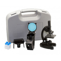 Microscópio Com Ampliação 300x 600x E 1200x Vivitar Vivmic4
