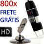 Microscópio Digital Usb 800x Hd Frete Grátis! Envio Imediato