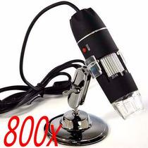 Microscópio Digital Usb Zoom 800x 2.0mp Profissional