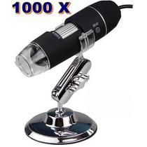 Microscópio Digital Usb Zoom 1000x Camera 2.0mp Profissional