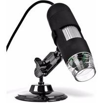 Microscópio Digital Usb 2.0 Mp 500x Zoom Iluminação Led