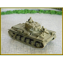Veículo Blindado Tanque Militar Kv-1 M41 Esc. 1:72