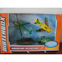 Pac Com 4 Minis Mission Force Military Crew Da Matchbox