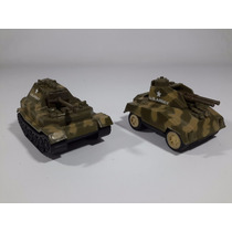 Tanque De Guerra Miniatura Em Metal Fricção Us Army Eua Usa