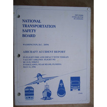 Livro National Transportation Safedy Board Aircraft Avião