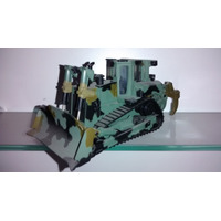 Miniatura Trator Esteira D8 Caterpillar Militar Escala 1:50