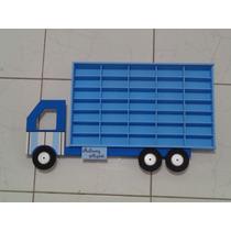 Estante Hot Wheels Para 35 Carrinhos - Caminhão Personalizad