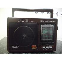 Caixa Som Microsistem Função Gravador Sd/ Usb Radio Am E Fm