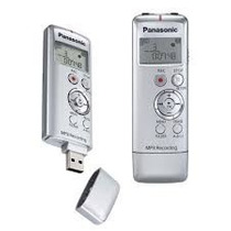 Gravador Digital De Voz Panasonic Rr-us310 2gb