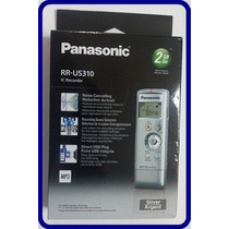 Gravador De Voz Digital Panasonic Rr-us310 2gb