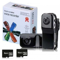 Minidv Video Camera Filmadora Webcam Espiã Hd 720x480 Ate16g