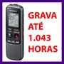 Gravador Voz Digital Sony Px240 4gb Grava Até 1.043 Horas