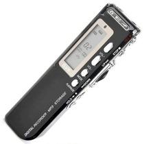 Mini Gravador De Áudio Voz Digital 4gb Escuta Telefônica Mp3