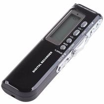 Gravador De Áudio Voz Digital R-70 4gb Escuta Telefônica Mp3