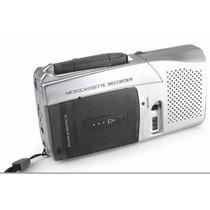 Mini Gravador De Voz Fita Cassete Powerpack Rx-750 Novo