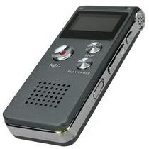 Gravador Digital De Voz Espião Escuta Telefonica 8gb Mic