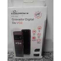 Gravador Digital Power Pack Dvr-2089 Novo Com Nfe E Garantia