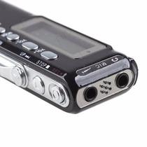 Gravador De Voz Digital Espião Grava Até 6 Dias Direto