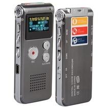 Gravador De Voz Digital Com Mp3 Player 4gb