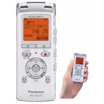 Gravador De Voz Panasonic Rr-xs410   4gb Usb / Pcm / Mp3
