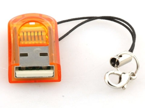 Mini Leitor Gravador De Cartão De Memória 4gb 8gb 16gb 32gb