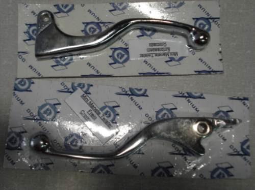 Mini Manetes Freio/embreagem P/ Twister E Cb 300 (cromados)