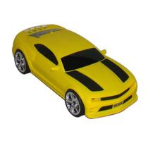 Caixinha Som Camaro Amarelo Mp3 Usb Micro Sd P2 Pen Drive