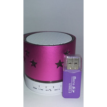 Pequena Caixinha Caixa De Som Bluetooth Mp3 Fm Leitor Cartão
