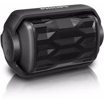 Caixa De Som Philips Preto Bluetooth À Prova D