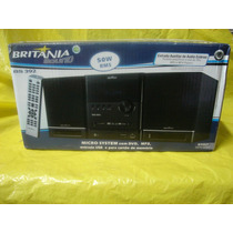 Micro-system Britania Bs-392 - 50w-rms- Mp-3 E Mp-4 - Usb