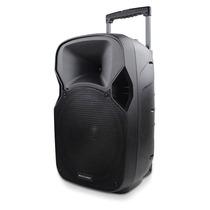 Caixa De Som Amplificadora Multilaser Trolley, 150w, Usb