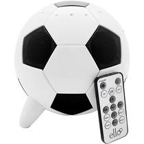 Caixa De Som Portátil Bola De Futebol Entrada Usb Sd 23w