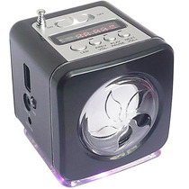 Mini Caixa De Som Portátil Usb Micro Sd Pendrive Fm Ws-908