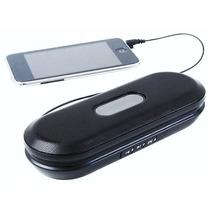 Mini Caixa De Som Speaker Smart Radio Fm Aux Usb