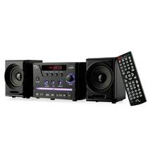 Caixa De Som Mini System Com Dvd Player Usb 30w Rms Sp141
