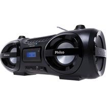 Som Portátil 100w Philco Com Flash Lights Mania Virtual