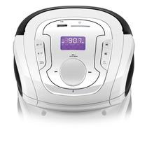 Rádio Relógio Bateria De Lítio Bluetooth Usb Fm Sd 15w Sp185