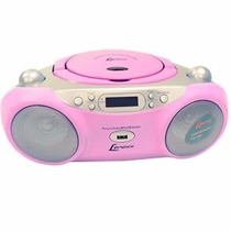 Rádio Am/fm Com Cd Player, Mp3, Usb Lenoxx Bd-127 Rosa
