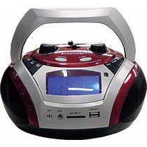 Caixa De Som Ecopower Ep-2307 + Bateria Interna Mp3+usb+sd